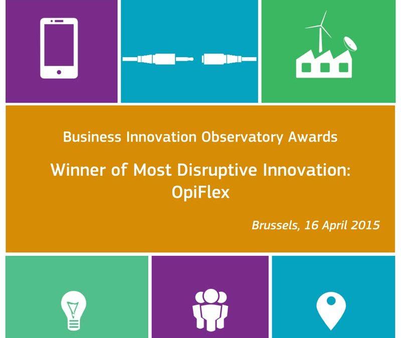 OpiFlex vann EU-Kommissionens pris